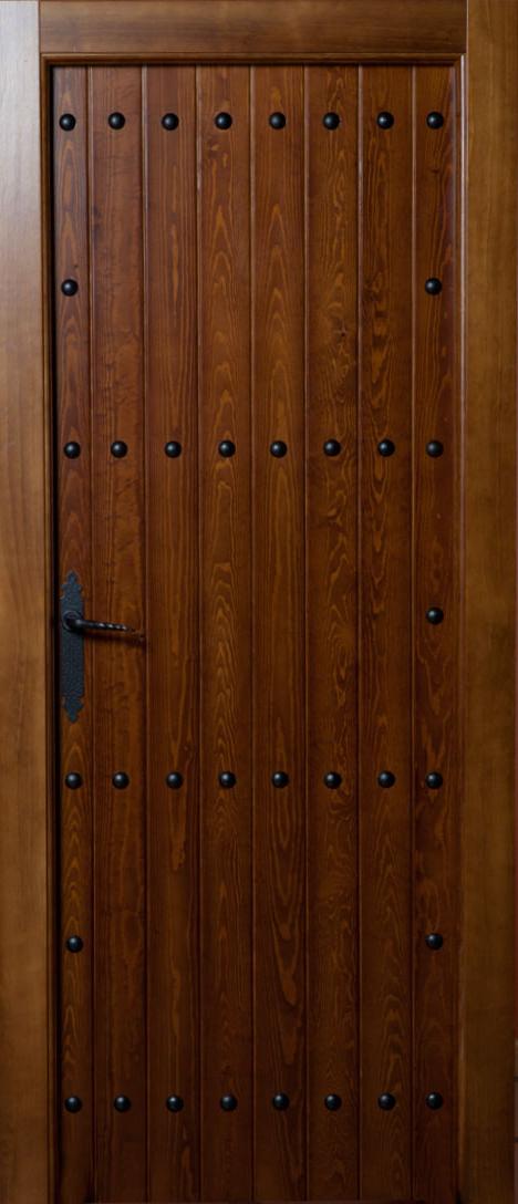 Puerta castellana seresola duela bricoteo puertas granada for Puerta castellana pino