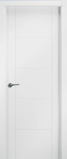 Puerta lacada aligerada 23 bricoteo puertas granada for Puertas uniarte lacadas