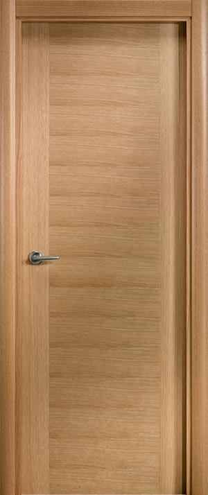 Puerta de madera uniarte lxt roble americano barniz - Puertas de roble ...