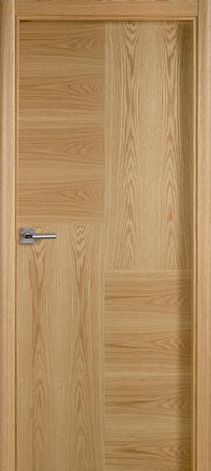Puerta de madera uniarte lht roble americano barniz for Puerta madera roble