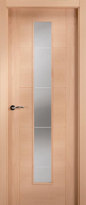 Puerta de madera uniarte vp5 haya vaporizada barniz - Puertas de haya vaporizada ...