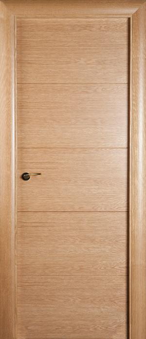 Puerta de madera uniarte vt5 roble americano barniz for Precio puerta roble