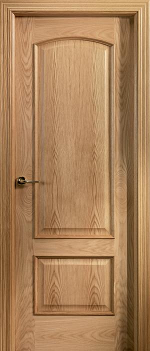 Puerta de madera uniarte 22m roble americano barniz - Puertas de roble ...