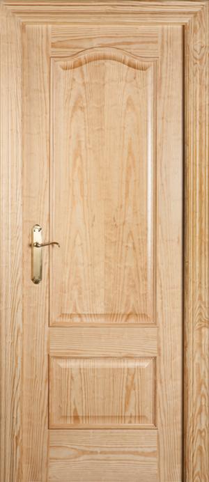 Puerta de madera proma 400 pino melis barniz bricoteo - Puertas de pino ...