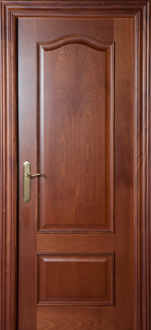 Puerta de madera proma 400 sapelly dibujo barniz for Puertas de madera cordoba
