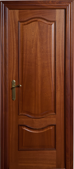 Puerta de madera proma 2200 sapelly dibujo barniz for Puertas sapelly