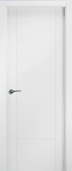 Puerta lacada uniarte u vp5 bricoteo puertas granada for Puertas uniarte lacadas