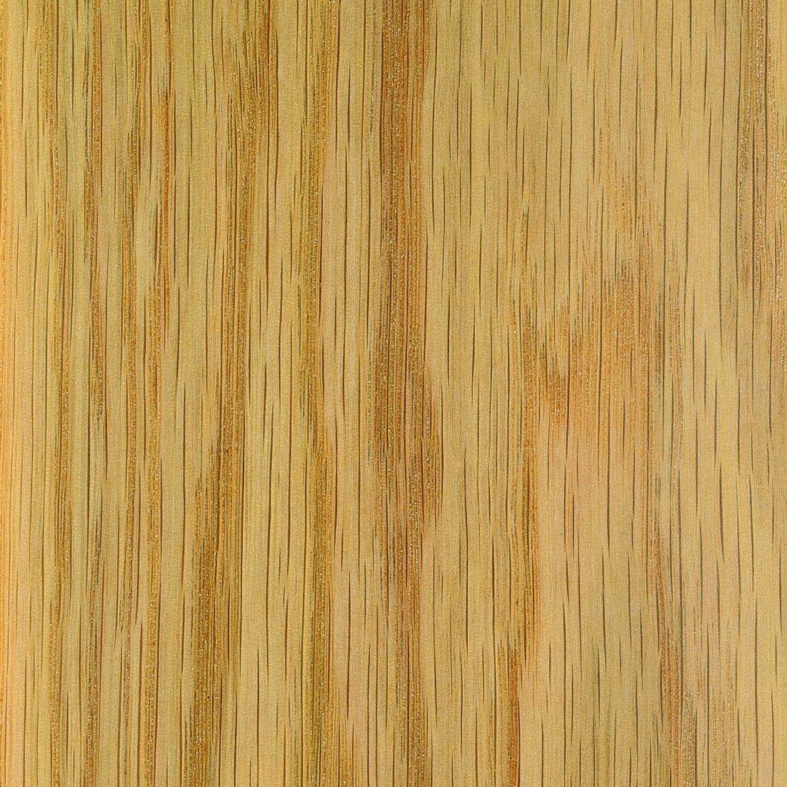 Mesa de comedor en madera maciza y chapa natural de roble - Muebles de madera en crudo ...